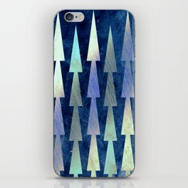In the Christmas forest iPhone Skin