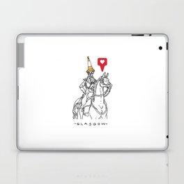 Glasgow, cone Laptop & iPad Skin
