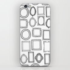 picture frames mono iPhone & iPod Skin
