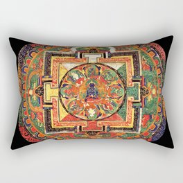 Buddhist Mandala 32 Rectangular Pillow