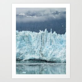 the marjorie glacier.  Art Print