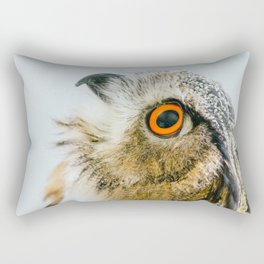 Eurasian Eagle Owl Rectangular Pillow