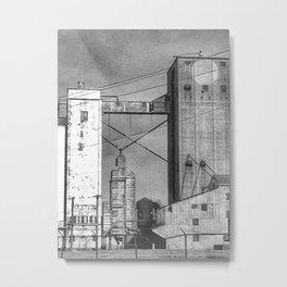 Grain Towers Metal Print