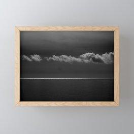 tra il dire e il fare... Framed Mini Art Print