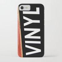 vinyl iPhone & iPod Cases featuring Vinyl by Biff Rendar