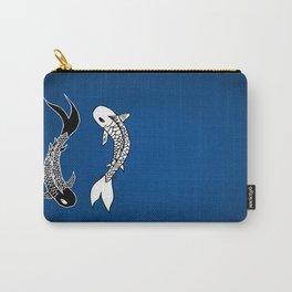 Koi Yin-Yang (V3) Carry-All Pouch