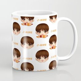 BTS J-Hope MOTS Cute Chibi Coffee Mug