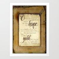 Only Hope Art Print