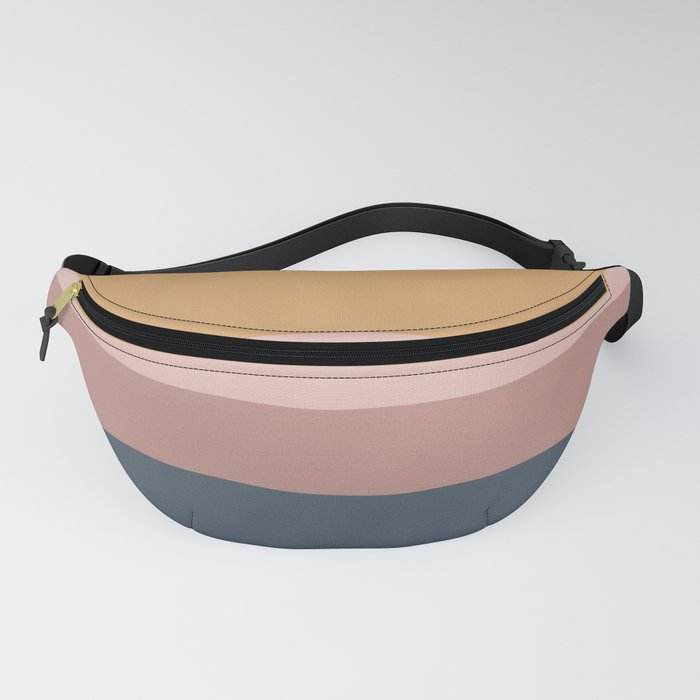 Minimal Retro Sunset - Neutral Fanny Pack