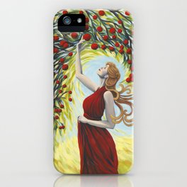 Blessing the Harvest (2016) iPhone Case