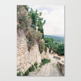 Gordes, Luberon - Alleys Canvas Print