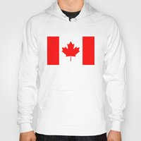 canada Hoodies featuring Canada by McGrathDesigns