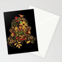 Gandhi Psychedelic Khokhloma Stationery Cards
