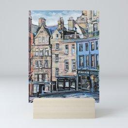 Old Town Edinburgh Mini Art Print
