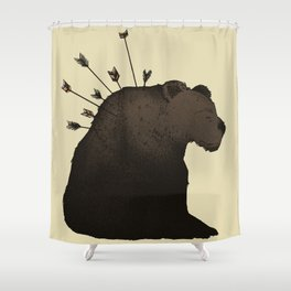 Hurt Shower Curtain