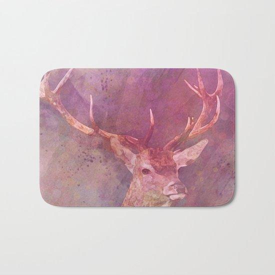 deer head Bath Mat