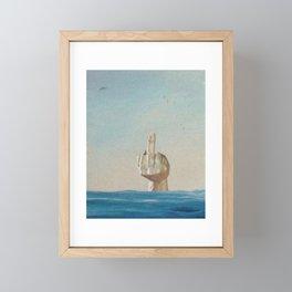 Neptune Framed Mini Art Print