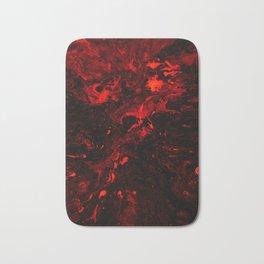 Red Blood Splatter Bath Mat