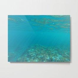 Underwater LHI Metal Print