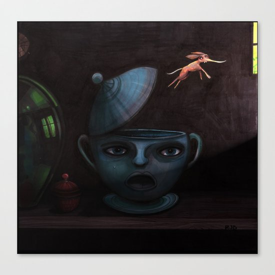 Unlikely Escape. Canvas Print