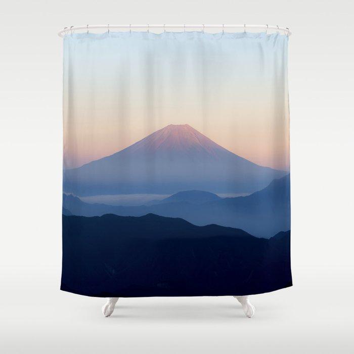 Mt Fuji Japan Shower Curtain