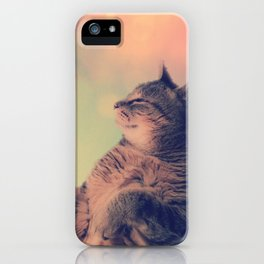 Dancing Kitty Cat iPhone Case