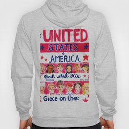 United States of America: God Shed His Grace on Thee Hoody