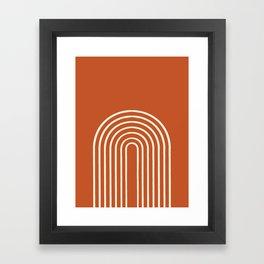 Terracota Framed Art Print