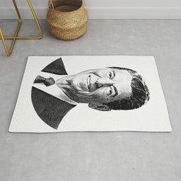 President Ronald Reagan Graphic Rug