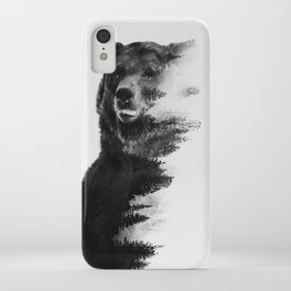 Observing Bear iPhone Case