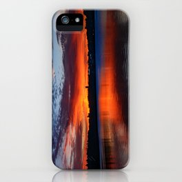 Sunset wings iPhone Case