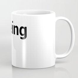 peeing Coffee Mug