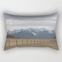 Prairies and mountains Rectangular Pillow