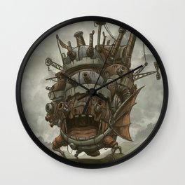 Howl´s moving castle by Aleck Wall Clock