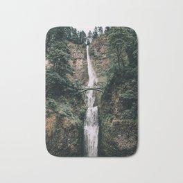 Multnomah Falls III / Oregon Bath Mat
