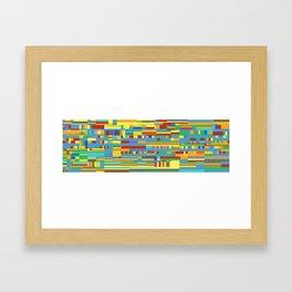 Chromatetude (Candy Colours) Framed Art Print