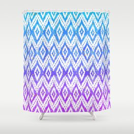 Watercolor Fantasy Chic Shower Curtain
