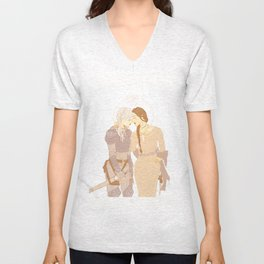 The Witch and The Knight Unisex V-Neck