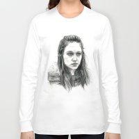 jem Long Sleeve T-shirts featuring Jem Walker by laya rose