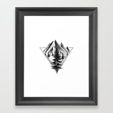 NORTHERN MOUNTAINS II Framed Art Print