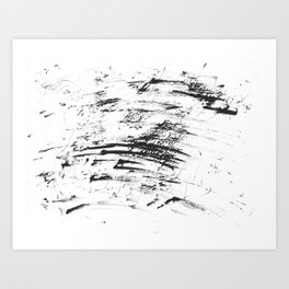 Monotype #9 Art Print