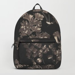 Black Maidenhair Backpack