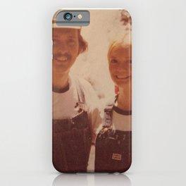 Mom and dad honeymoon iPhone Case