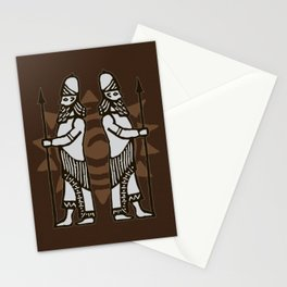 Mesopotamian Heroes Stationery Cards