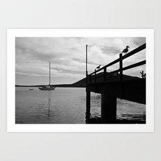 In the bay... Art Print