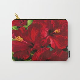 Red Hibiscus 18 Carry-All Pouch