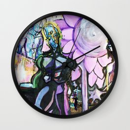 Purusha and Prakriti Wall Clock