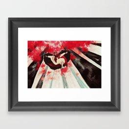Look now! Framed Art Print