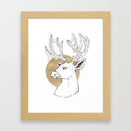 Forest Guardian Framed Art Print