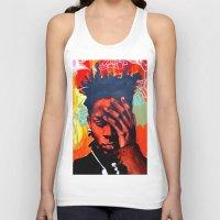 basquiat Tank Tops featuring Basquiat  by jack shaftoe